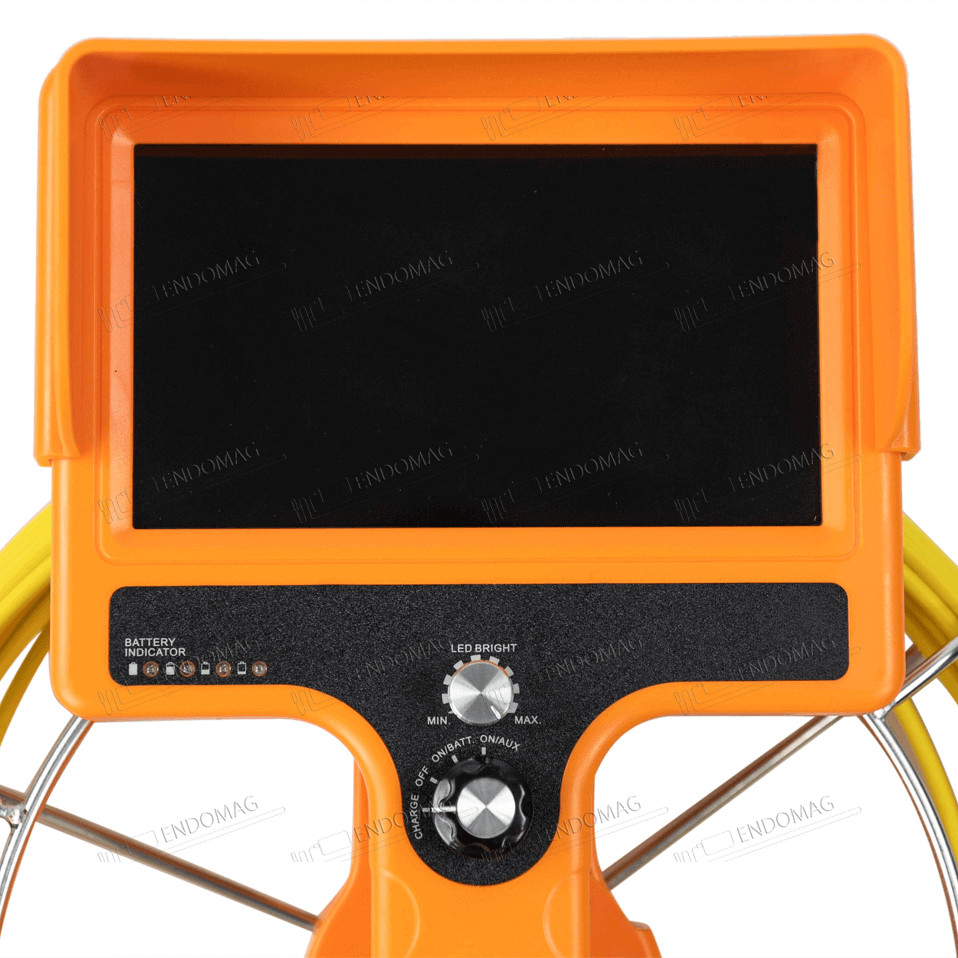 Технический промышленный видеоэндоскоп для инспекции труб WOPSON WPS-710-SCJ для инспекции, 20 м, без записи - 4