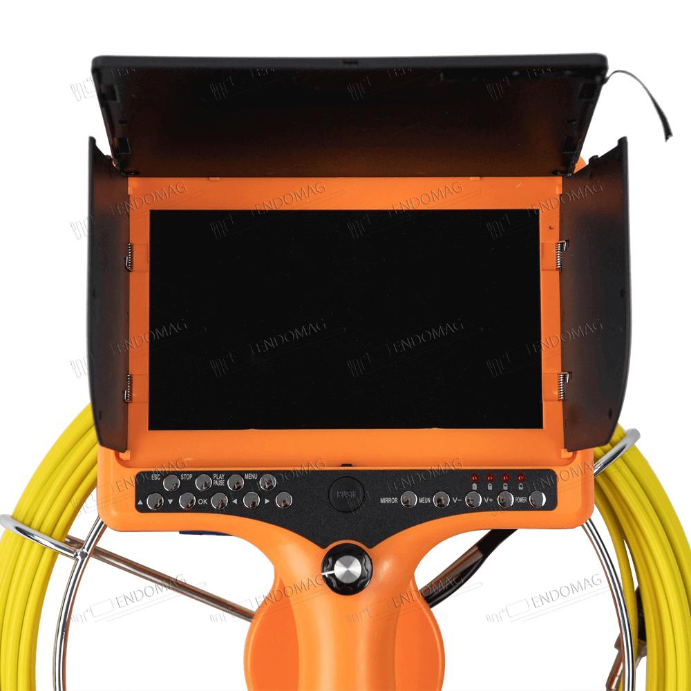 Технический промышленный видеоэндоскоп для инспекции труб BEYOND CR110-7DH для инспекции, 20 м, с записью, с выносным монитором - 4